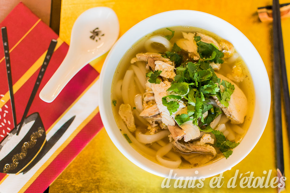 Bánh canh gà – Chicken noodle soup