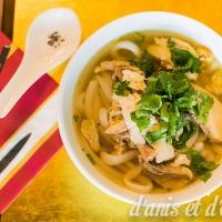 Bánh canh gà - Chicken noodle soup